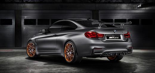 BMW M4 GTS concept arriere
