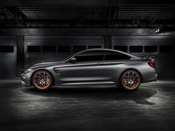 BMW M4 GTS concept profil