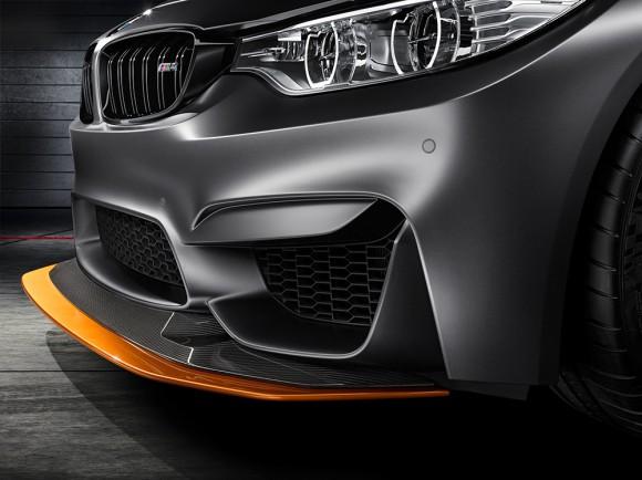 feux avant pare choc prise air BMW M4 GTS concept