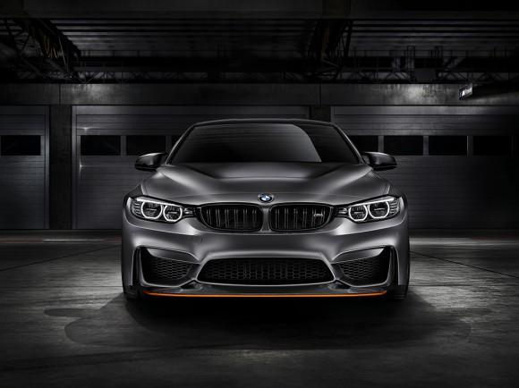 face avant BMW M4 GTS concept