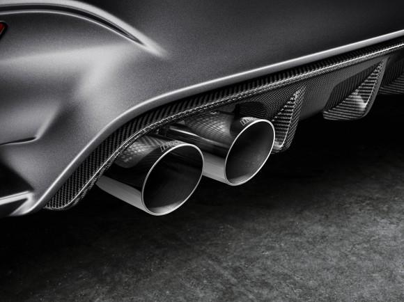 BMW M4 GTS concept sortie échappement