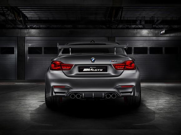 BMW M4 GTS concept vue arriere