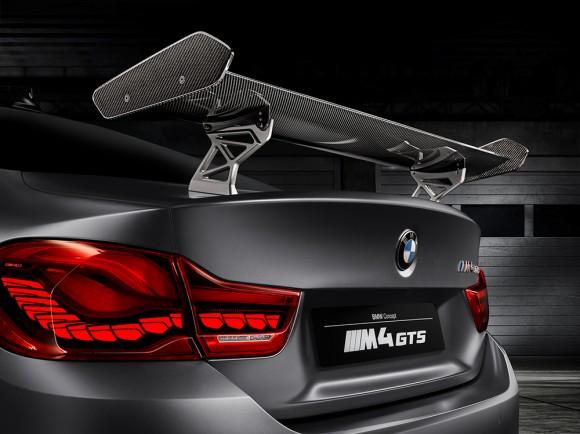 BMW M4 GTS concept aileron