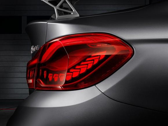 feu arriere aileron BMW M4 GTS concept