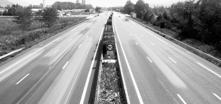 vitesse limite autoroute