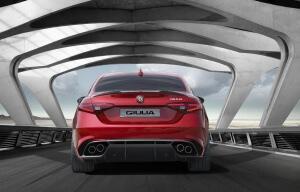 Arriere nouvelle Alfa Giulia