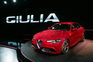 new Alfa Romeo Giulia 2016