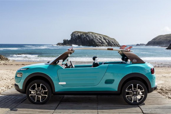 Citroen cactus M concept francfort 2015 (6) photo