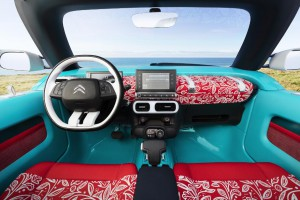 Interieur Citroen cactus M concept francfort 2015 (8) photo