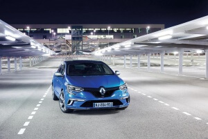 Face avant Renault Megane 4