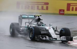 Mercedes AMG pluie