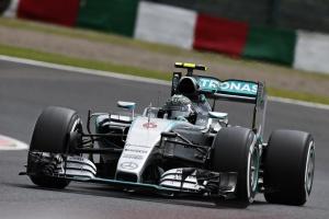 Team Mercedes AMG Formule 1 Japon 2015