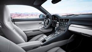 interieur 911 type 991 porsche 2016