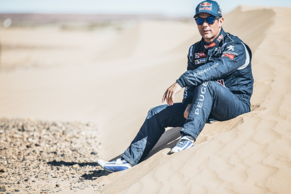 rallye maroc team peugeot sainz loeb photo (4)