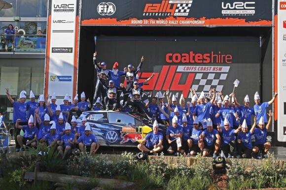 volkswagen champion monde wrc 2015