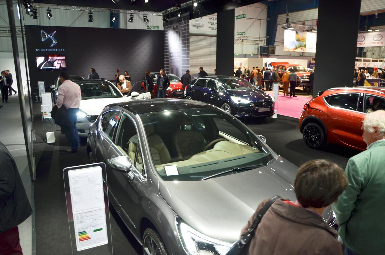 Le Stand DS Automobiles.