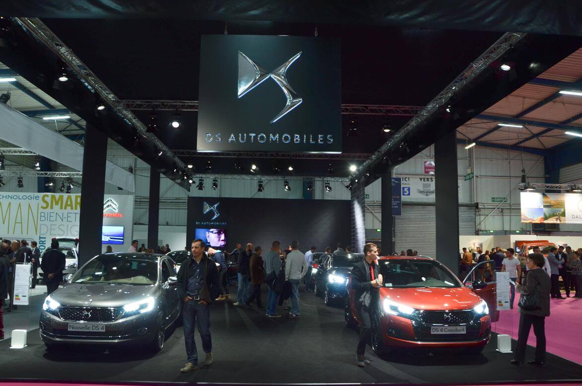 Le Stand DS Automobiles.