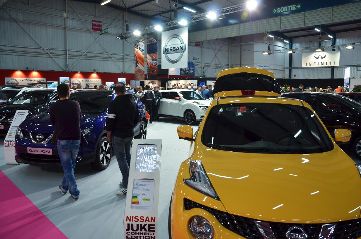 Retour en images sur le salon automobile de toulouse 2015 for Salon de auto 2015