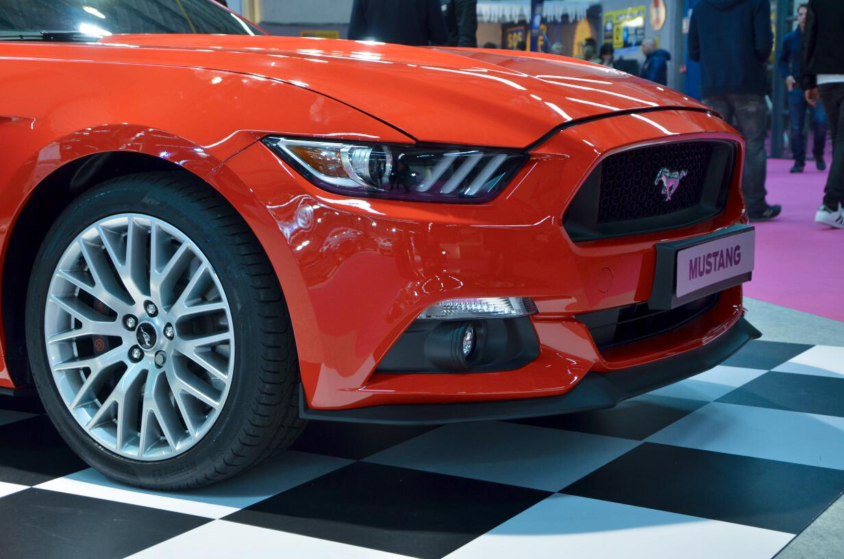 salon auto toulouse 2015 ford mustang