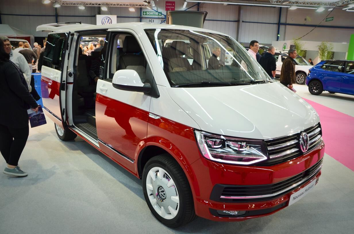 salon auto toulouse 2015 vw multivan