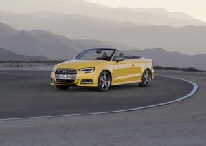 A3 cabriolet Vegas Yellow