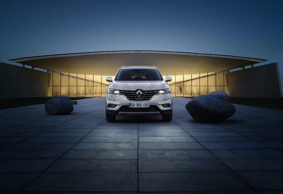 face avant Renault Koleos 2016