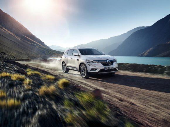 Renault Koleos sur route
