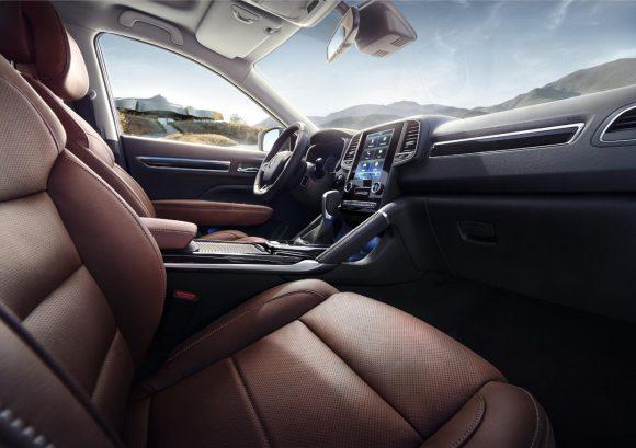 Renault Koleos 2016 avant inerieur