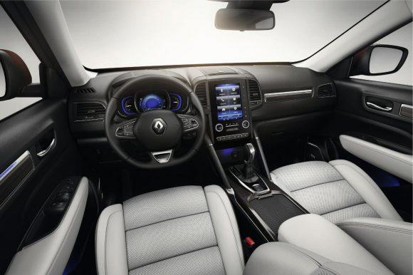 Renault Koleos 2016 habitacle