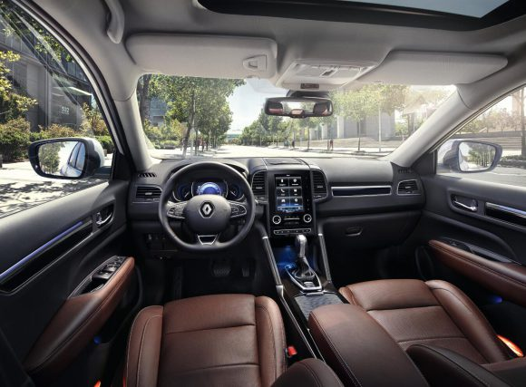 Renault Koleos 2016 interieur