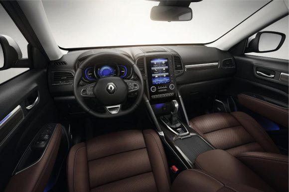 Renault Koleos 2016 tableau de bord