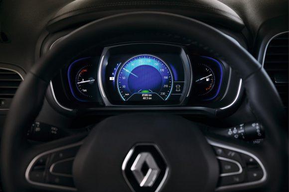 Renault Koleos 2016 volant commandes
