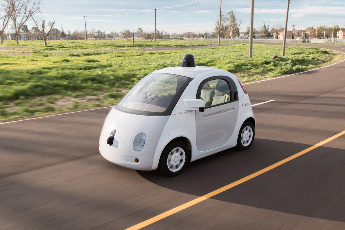 google voiture autonome