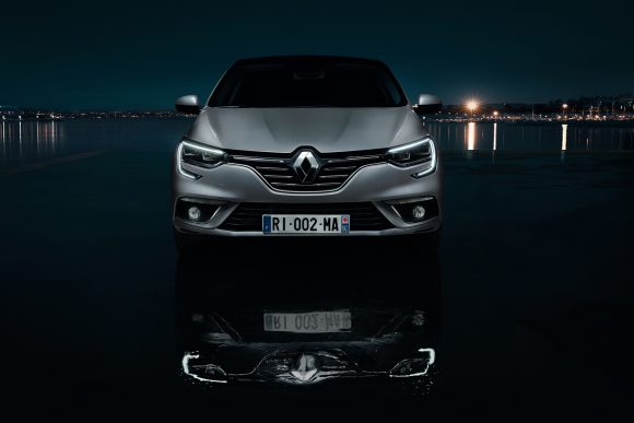 Renault Megane Sedan phares