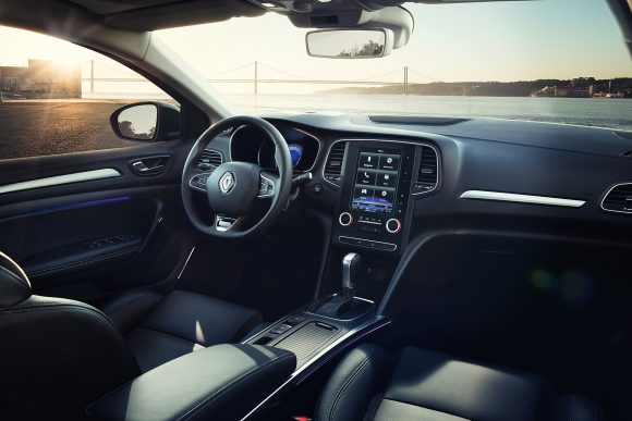 Renault Megane Sedan cockpit