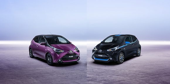 edition speciale aygo toyota