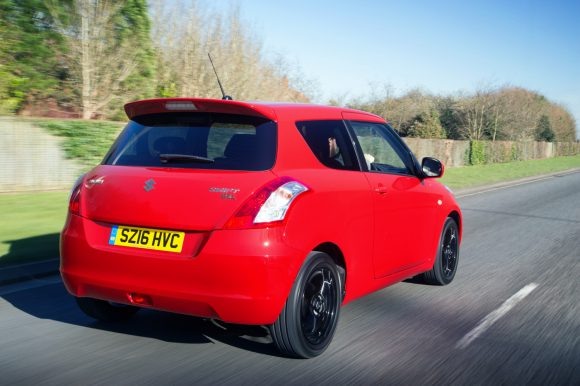 Suzuki Swift back