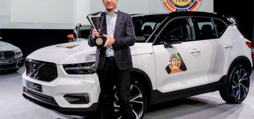 Volvo XC40 voiture de l'année 2018