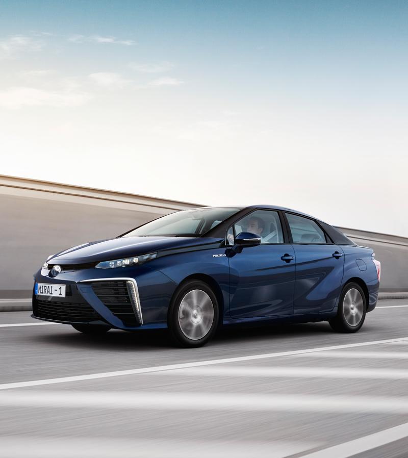 Toyota Mirai hydrogene