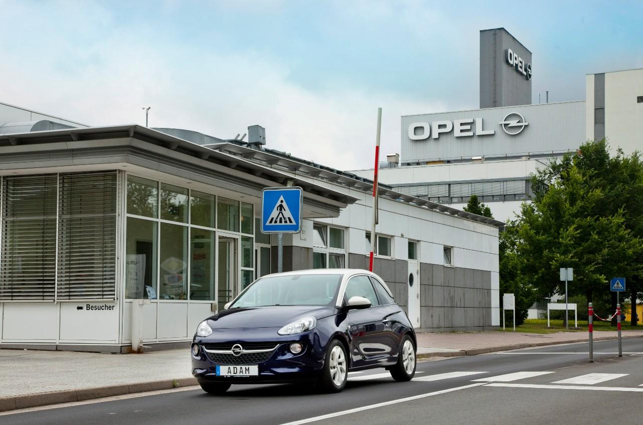 usine Eisenach opel groupe PSA