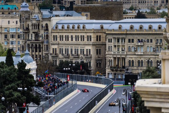 course hamilton f1 azerbaidjan
