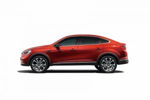 crossover Renault ARKANA profil