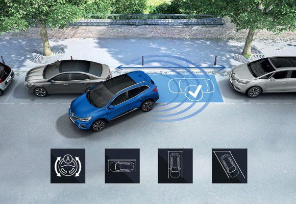 2018 - Nouveau Renault KADJAR Aide au parking - Easy Park Assist