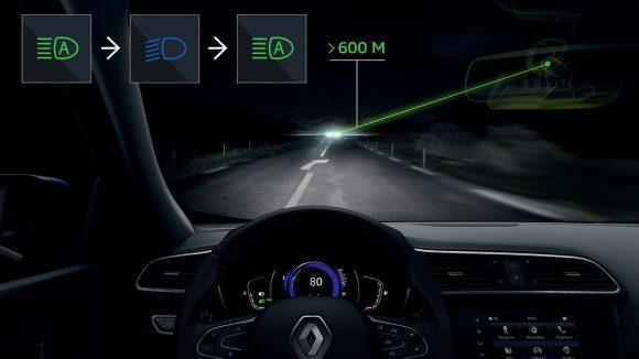 2018 - Nouveau Renault KADJAR Commutation automatique des feux de route - croisement