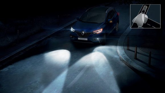 2018 - Nouveau Renault KADJAR Feux additionnels de virage