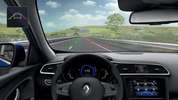 Nouveau Renault KADJAR Système d'alerte de franchissement de ligne
