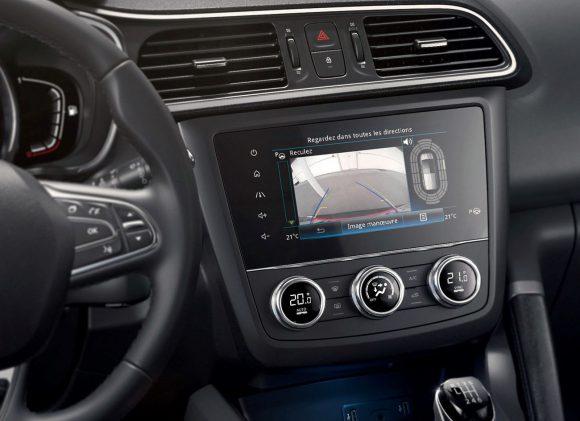 2018 - Nouveau Renault KADJAR Ecran caméra de recul sur R-Link