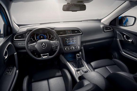 2018 - Nouveau Renault KADJAR Planche de bord avec R-Link