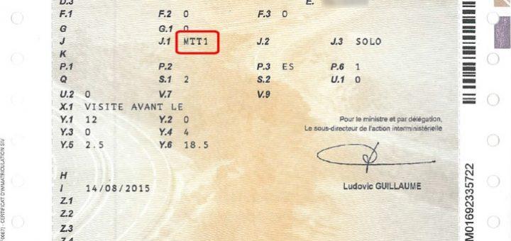 carte grise moto mtt1