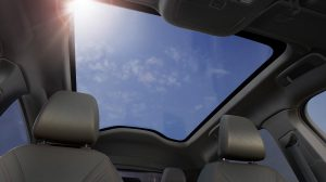 Toit panoramique anti UV